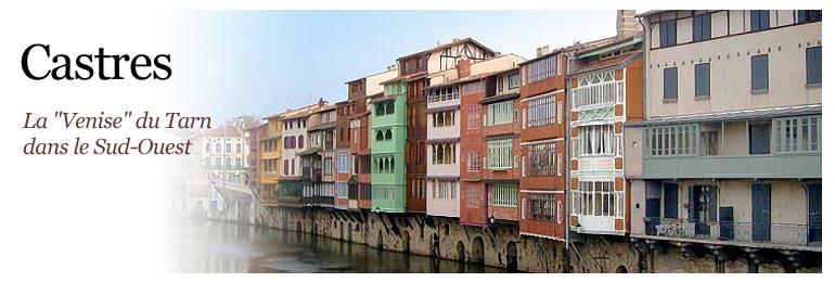 Castres la petite Venise du Tarn