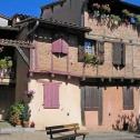 Maison médiévale à colombage typique d'ALBI