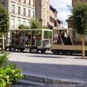 Promenade en petit train dans les rues d'ALBI