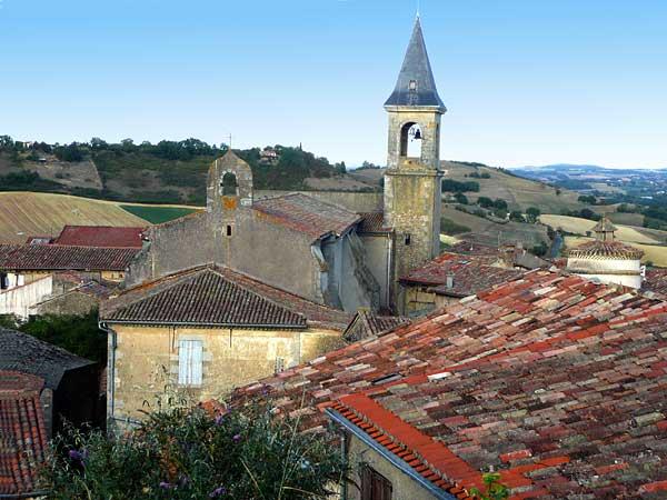 Lautrec l 39 ail rose et la famille de henri de toulouse lautrec for Beau village autour de toulouse