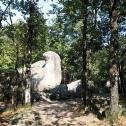 Le roc de l'oie dans le Sidobre