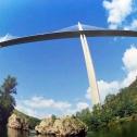 Le Viaduc de Millau dans sa bulle