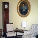 Coin détente salon de la maison d'hotes de Lalande