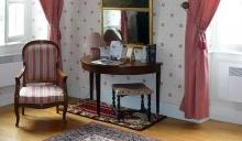 Intérieur de chambre Domaine de Lalande