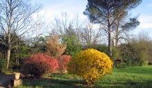 Parc en fleurs Domaine de Lalande