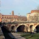Clocher des Jacobins et le Pont Neuf Toulouse